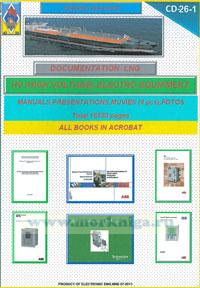 CD Maritime electronic library. CD 26-1. HV (high voltage) electro equipment. Manuals, presentation, muvies (8 pcs),  fotos