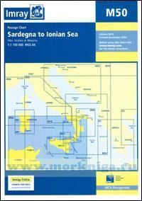 M50 Sardegna to Ionian Sea от Сардинии до Ионического моря (1:1 100 000)