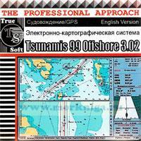 CD Электронно-картографическая система Tsunamis 99 Offshore 3.02