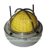 Звездный глобус морской КБх3Г-ОМ11 в металлическом футляре