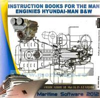 CD The Instruction books for the main engenes Hundai-Man B&W