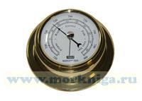 Барометр (полированная латунь) 95 мм*70 мм