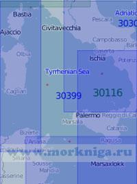 30399 Тирренское море (Масштаб 1:1 000 000)