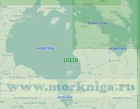 10110 Гудзонов залив (Масштаб 1:2 000 000)