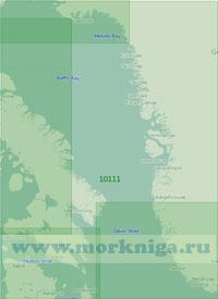 10111 Девисов пролив и южная часть моря Баффина (Масштаб 1:2 000 000)