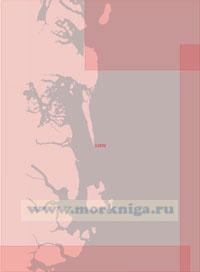 11032 От острова Иль-де-Франс до бухты Гель-Хамкес (Масштаб 1:500 000)