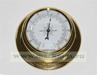 Термометр (полированная латунь) 95 мм*70 мм