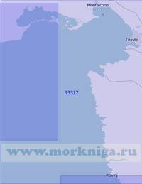 33317 Восточная часть Венецианского залива (Масштаб 1:100 000)