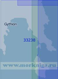 33238 Залив Лаконикос с подходами (Масштаб 1:100 000)