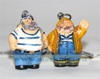 Брелок с толстяком-моряком (в ассортименте)