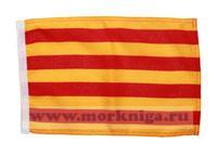 Флаг Каталонии 20х30 см