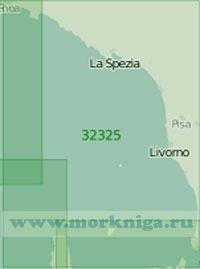 32325 От острова Эльба до Генуи (Масштаб 1:200 000)