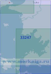 33247 От острова Самос до острова Кос (Масштаб 1:100 000)