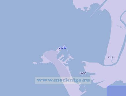 29340 Кадисская бухта (Масштаб 1:15 000)