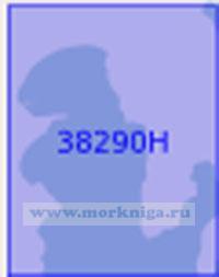 38290Н Бухты средней части островов Киклады. Бухта Ливади