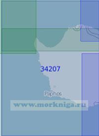 34207 От мыса Кокино до мыса Аспро (Масштаб 1:100 000)