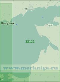32121 Восточная часть Азовского моря (Масштаб 1:200 000)