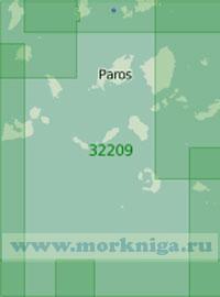 32209 От острова Китнос до острова Анафи (Масштаб 1:200 000)
