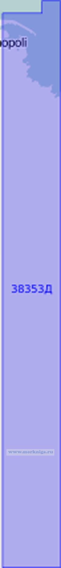38353Д Гавани побережья Италии. Гавань Монополи