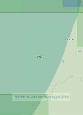32400 От мыса Спартель до порта Рабат (Масштаб 1:200 000)