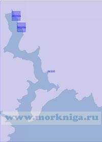 38300 Залив Кварнер. Бухта Раша (Масштаб 1: 20 000)