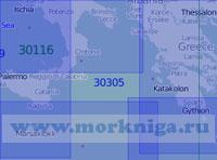 30305 Ионическое море (Масштаб 1:1 000 000)