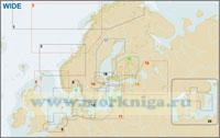 От г. Гетеборг до Эгерсунна и пролив Скагерак (№8 EN-M565 WIDE)