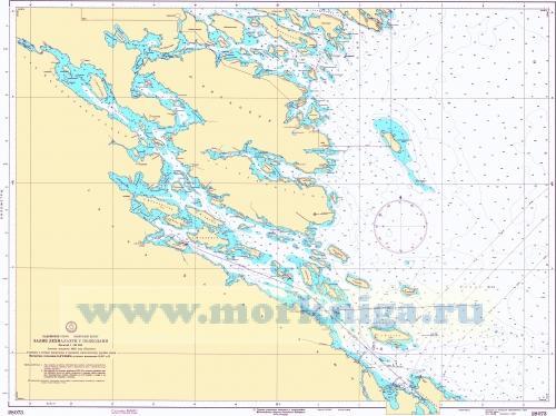 28073 Залив Лехмалахти с подходами (Масштаб 1:25 000)