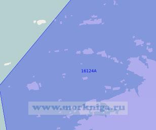 16124 Подходы к гавани Буд (Масштаб 1:50 000)