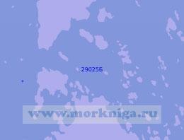 29025 Порт Уусикаупунки (Нюстад) и проливы в водах Финляндии
