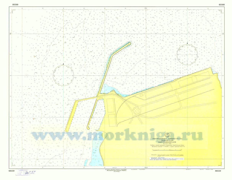 68559 Порт Кампонгсаом (Масштаб 1:2 000)