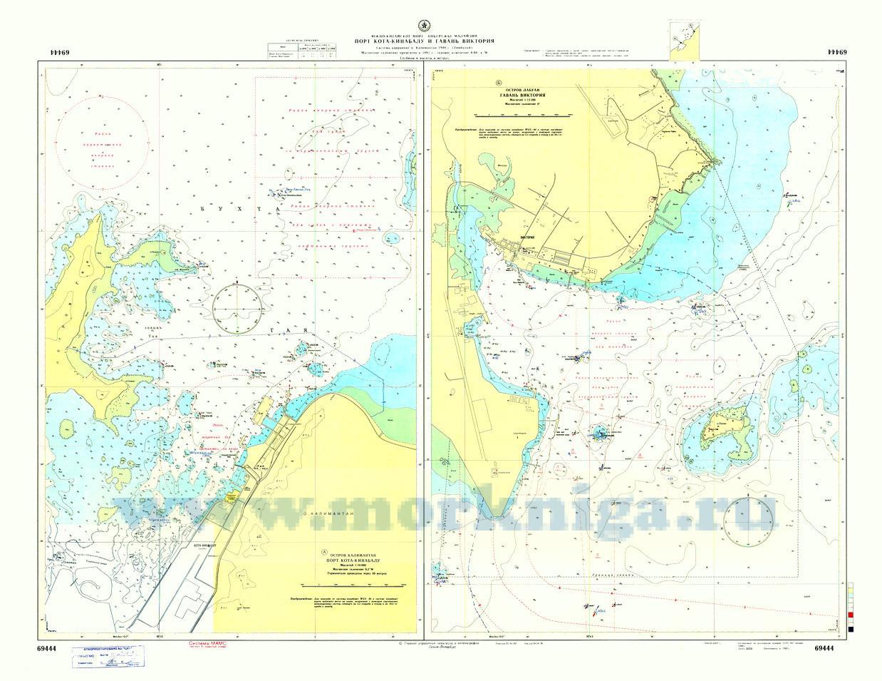 69444 Порт Кота-Кинабалу и гавань Виктория