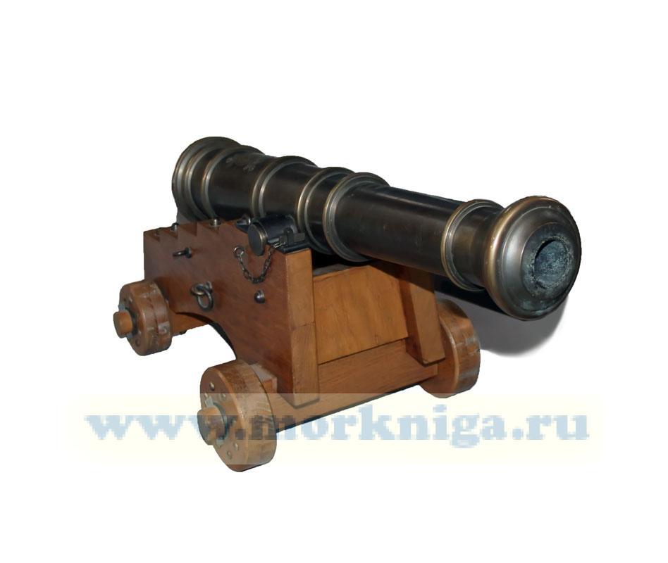 Макет корабельной пушки