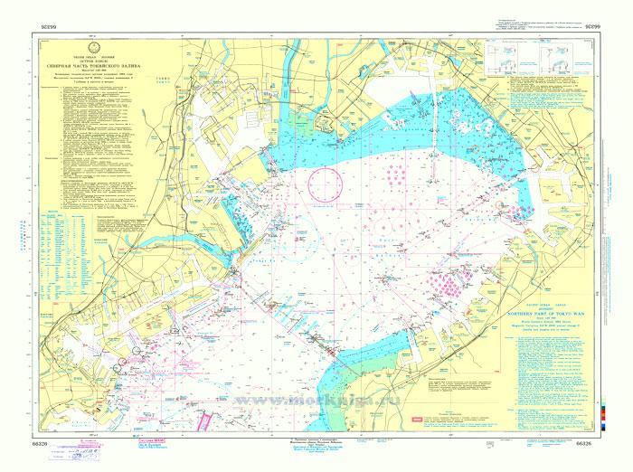 66326 Северная часть Токийского залива (Масштаб 1:50 000)