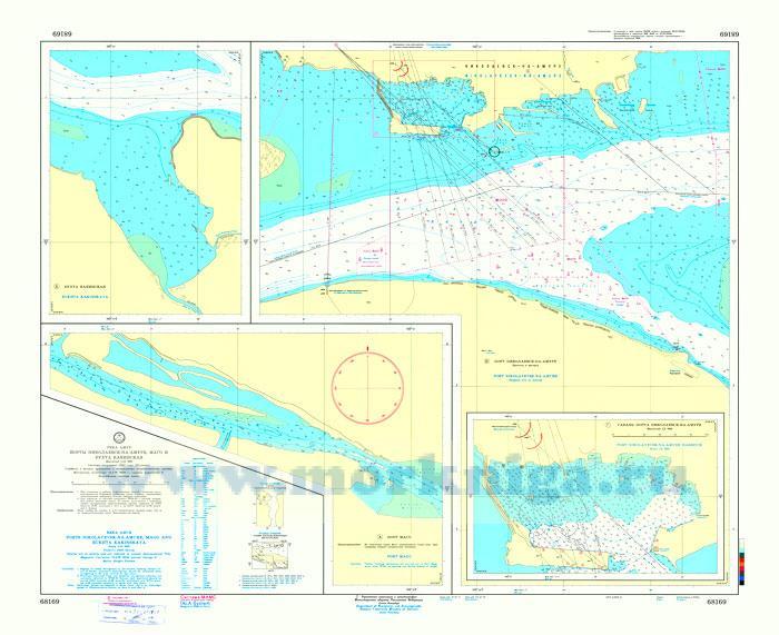 68169 Порты Николаевск-на-Амуре, Маго и бухта Какинская