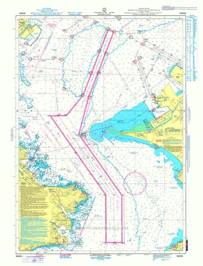 66330 Пролив Урага (Масштаб 1:25 000)