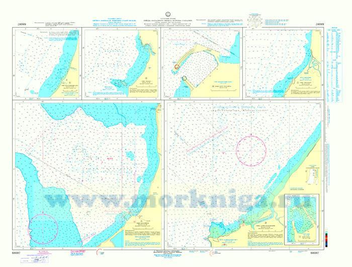 68087 Рейды западного берега острова Сахалин