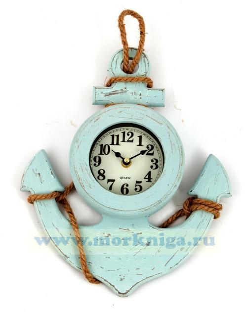 Часы настенные с якорем 28*6*35 см
