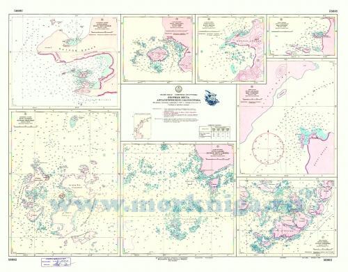 58992 Якорные места Антарктического полуострова