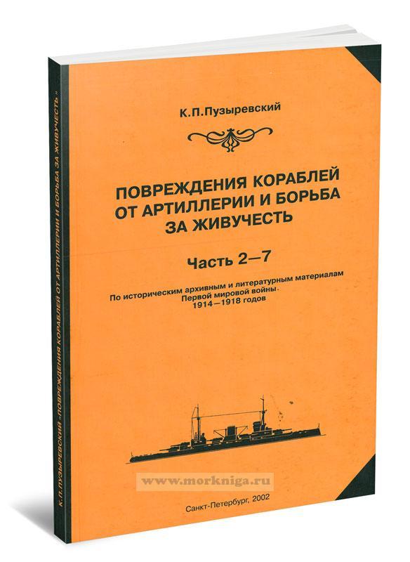 Повреждения кораблей от артиллерии и борьба за живучесть. Часть 2-7