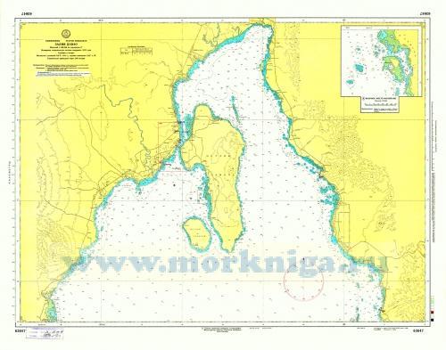 63647 Залив Давао (Масштаб 1:100 000)