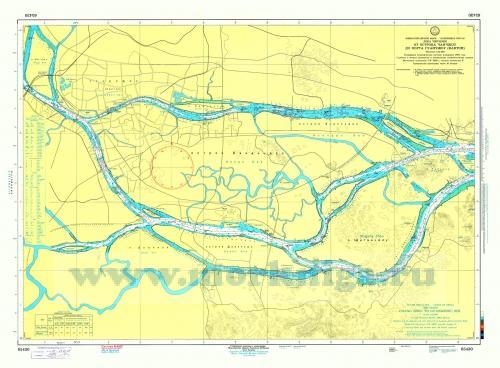 65430 Река Чжуцзян. От острова Чанчжоу до порта Гуанчжоу (Кантон) (Масштаб 1: 25 000)