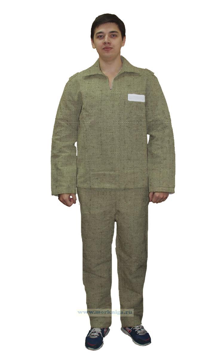 Роба матросская (комплект: куртка и брюки)