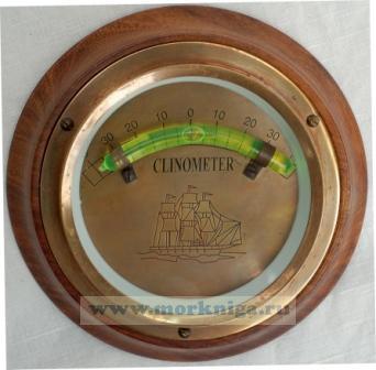 Кренометр морской жидкостной