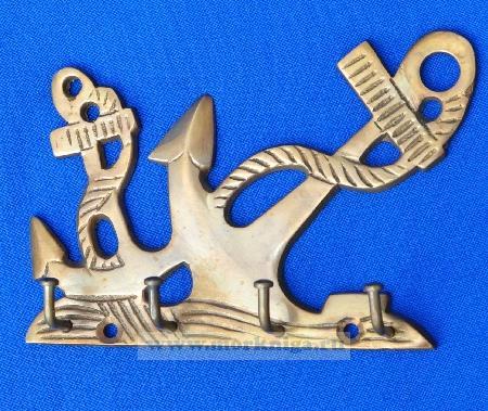 Крючки для ключей два якоря