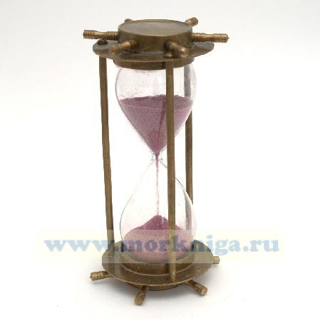 Песочные часы штурвал бронзовые