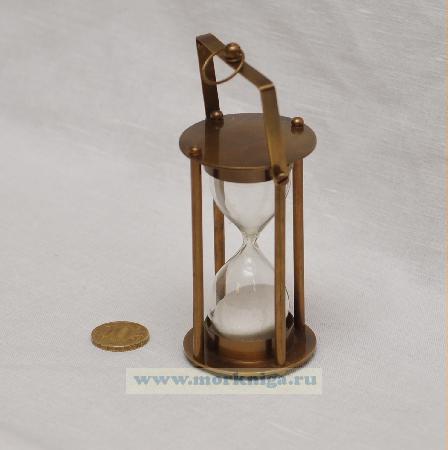 Песочные часы 4 дюйма на карданном подвесе бронзовые