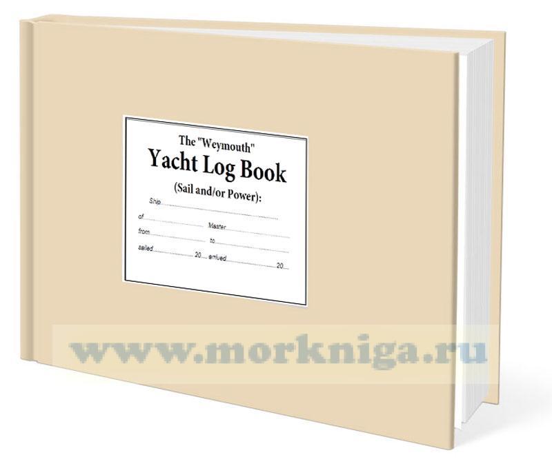Yacht Log Book / Судовой журнал яхты