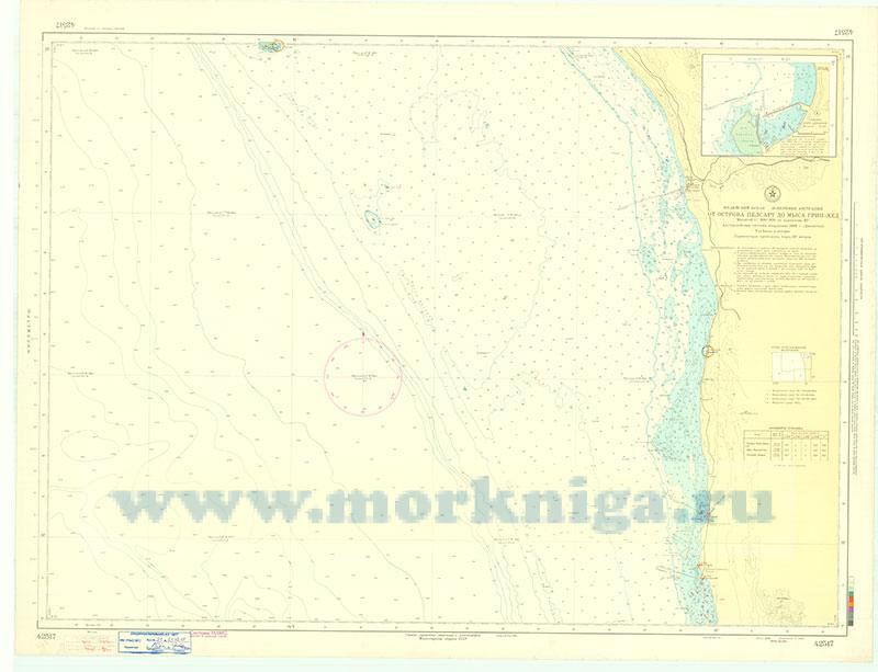 42517 От острова Пелсарт до мыса Грин-Хед (Масштаб 1:200 000)
