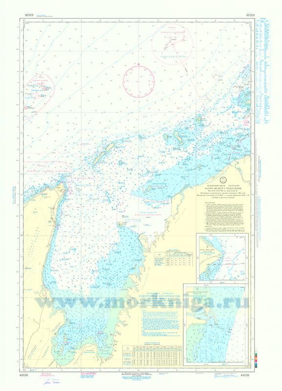 43526 Залив Эксмут с подходами/Exmouth Gulf and Approaches (Масштаб 1:150 000)